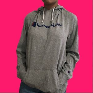 Lightweight Campion drawstring hoodie